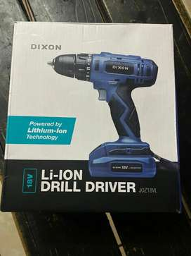New Dixon 18V Cordless Drill Driver with Battery & Charger for Sale...