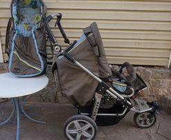 Детская коляска трансформер Hartan Skater