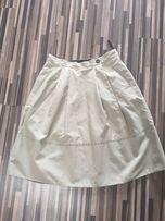 Beżowa spódnica Simple rozmiar 34 XS