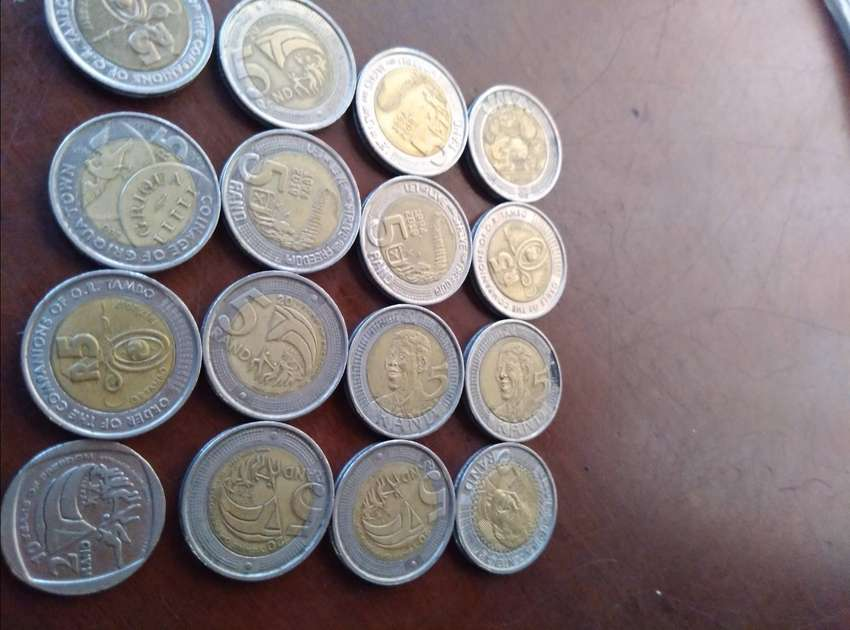 R5mandela  coins different years 0