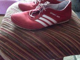 Кроссовки для девочки , кожа, 22 см по стельке!
