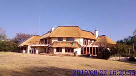 Baga nkuna thatching and construction