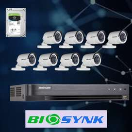 CCTV SYSTEM HD 1MP 8 CHANNEL