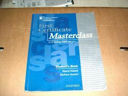 Masterclass - First Certificate - Student's Book - Haines, Stewart