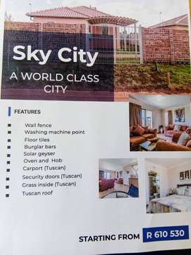 New development in Sky city and leopards rest in Alberton