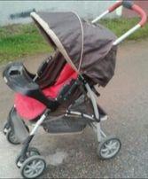 Graco mirage с люлькой-переноской для малыша (Грако прогулка, 2 в 1)
