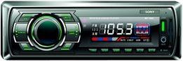 SD магнитола 1-DIN Sony MP-1021G