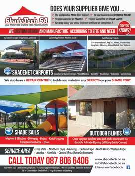 Shade ports, Roll up blinds and Agriculture nets