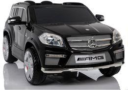 Auto na akumulator Mercedes GL63 skóra Miękkie koła