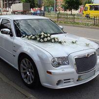 Весільні авто в оренду, квіти на авто