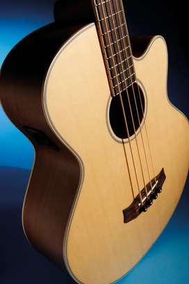 Brand new acoustic bass guitar 4string