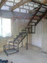 Изготовление металической лестницы