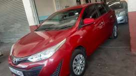 Toyota yaris hatchback 2018 in excellent condition