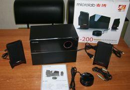 Microlab M-200 аудиосистема 2.1, M200 40W супер звук, новая