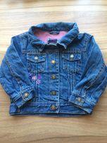 Джинсовая куртка джинсовка Fila 2-3года состояние новой