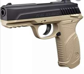 Gamo pt85 blow back pellet pistol with 4 types of ammunition included