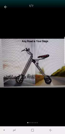3 Wheel Foldable Elrctric Scooter Ebike