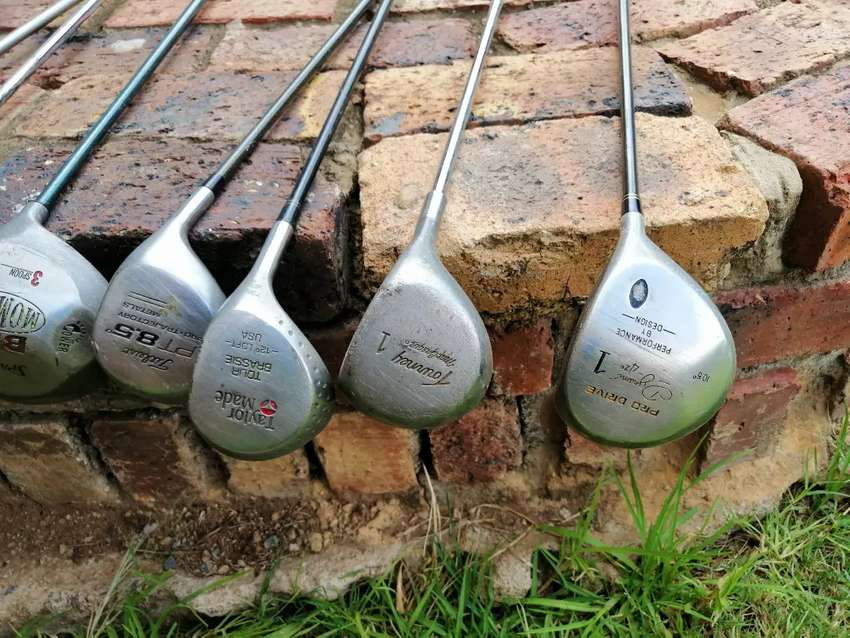 Metalwoods and putters for sale 0
