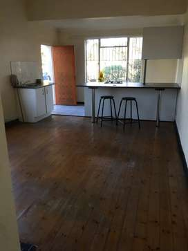 Open plan one bedroom semi attach flat to rent