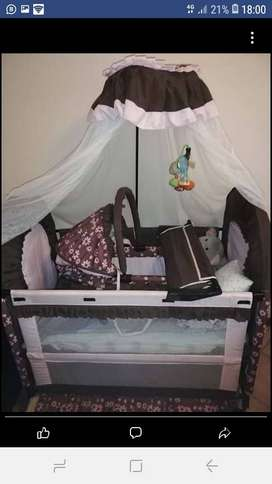 chelino 5 in 1 baby cot