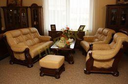 Новый кожаный диван и кресло Cezar I 3+1. Шкіряний диван та крісло