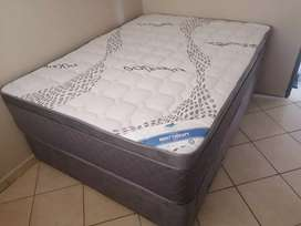 Brand new Sealy and restonic bed