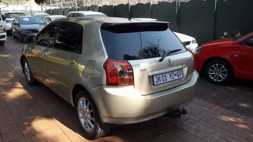 Toyota Runx 1.4RS Hatchback Manual For Sale 0