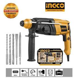 INGCO ROTARY HAMMER 800W IN CASE