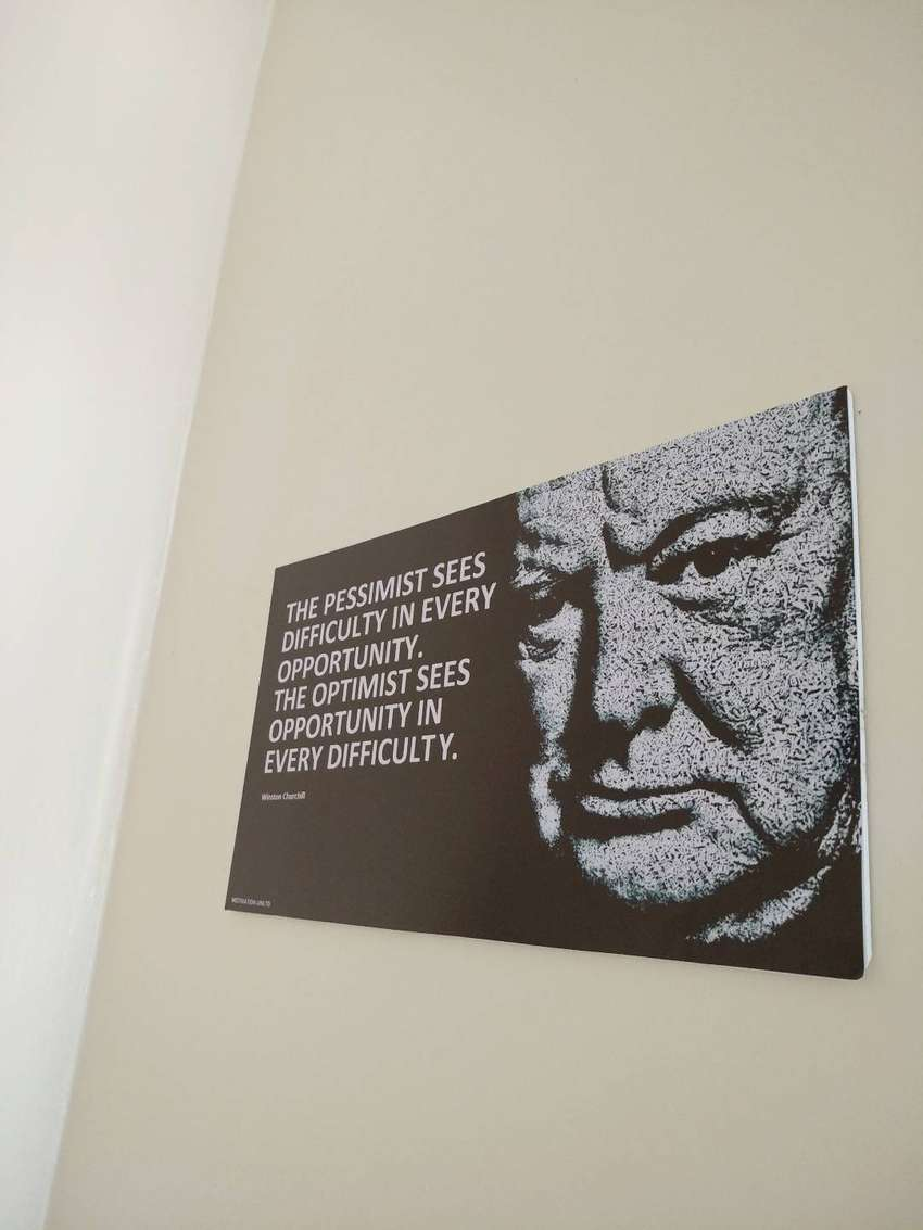 Let this great looking motivational wall Hanging Inspire and motivate 0