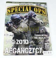 """Magazyn ludzi akcji """" Special OPS"""" rok 2010"""