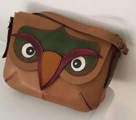 Leather Owl Handbag (Order today!)