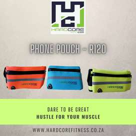 Phone and keys fitness pouch