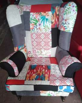 New wingback chairs