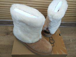 UGG Australia США Оригинал женские зимние сапоги ботинки кожаные угги