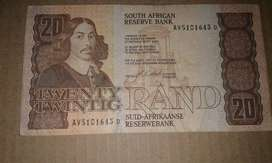 Old bank note for sale