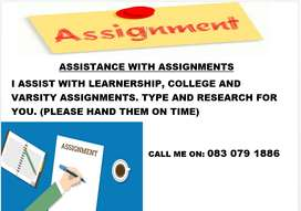 Assistance With Assignments