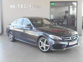 2015 MERCEDES BENZ C200 AUTO WITH 108000KMS