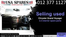 Chrysler Grand Voyager 3.3 MK 1999-03 used interior spare parts