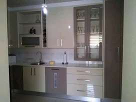 Carpentry services, built in units