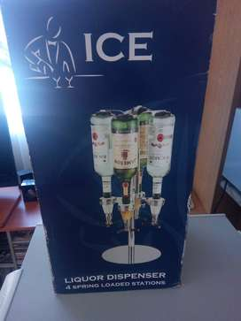 ICE 4 STATION LIQUOR DISPENSER New in original packaging.