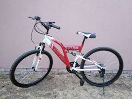 Double shock bicycle for sale 26 inch
