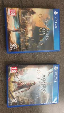 Assassins Creed Games for sale Ps4
