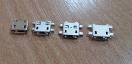 Разъём, гнездо, коннектор, Micro usb, Microusb - b (мама) для телефона
