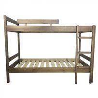 Кроватьдвухэтажная деревянная 70х190 Светлый орех