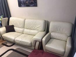 Продам кожаную мебель, производства Италия. В отличном состоянии.