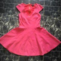 Платье фирменное,гипюровое,шифон,цветы River Island