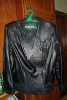 Качественная кожаная куртка