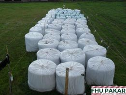 Worki Worek do sianokiszonki biały bele 120-130 elastyczne ekstra grub