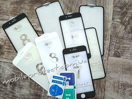 Защитное стекло Iphone 6 7 8 (4D/5D ) и другие модели