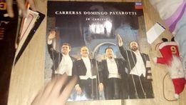Carreras Domingo Pavarotti płyta gramofonowa